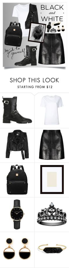 """♥♥"" by fashiontaken1 ❤ liked on Polyvore featuring Alexander Wang, Astraet, Vetements, Pottery Barn, ROSEFIELD, Warehouse and BaubleBar"