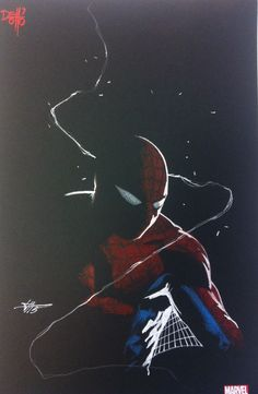 """Gabriele Dell'otto — The new artbook on all """"Amazing Spider-man"""" art by..."""