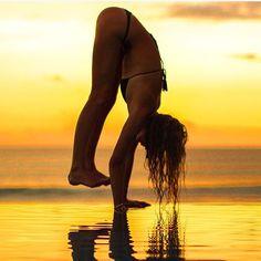 Dream it - Wish it - Do it - Sunsets .. Thanks - IG/ashleygalvinyoga