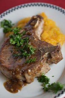 Maple-Mustard Pork Chops