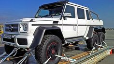 Mercedes G-Wagon 6x6 yes they're real! Only costs around $600,000..