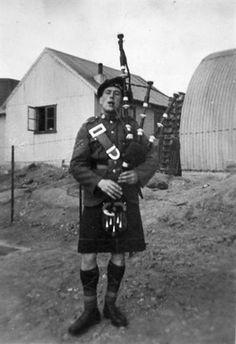 Lovat Scouts piper in the Faroe Islands