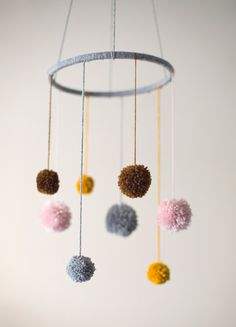 pom pom mobile | 100 Layer Cakelet