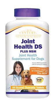 Joint Health DS Plus MSM- 21st Century Pet Health $21.99 http://www.21stcenturypet.com/product-dog.asp?i=1079=2
