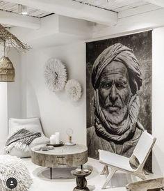 Discover authentic coffee tables on Couleur Locale Casa Magnolia, Tree Trunk Coffee Table, Casa Top, African Interior, Deco Boheme, Interior Decorating, Interior Design, Ibiza Style Interior, Decorating Ideas