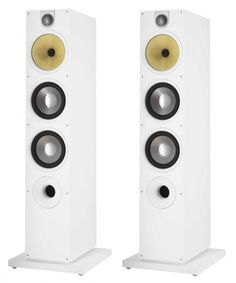 Bowers and Wilkins 683 S2 Speakers White