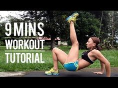 Body Weight workout routine, you can do anywhere in just 9 minutes. With special modifications for beginners and advanced workout users. Health And Wellness, Health Fitness, Get Moving, Get In Shape, Hiit, Body Weight, You Can Do, Exercise, Gym