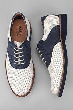 Bass saddle shoes