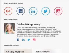 """Check out new work on my @Behance portfolio: """"Daily UI 35 - Blog Post"""" http://be.net/gallery/46544125/Daily-UI-35-Blog-Post"""