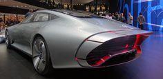 Die Studie IAA von Mercedes –ein Auto mit flexibler Aerodynamik.