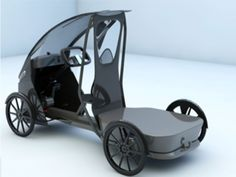 Imagine your next car being an ebike 4 Wheel Bicycle, Trike Bicycle, Cargo Bike, Electric Tricycle, Electric Cars, Concept Motorcycles, Cars And Motorcycles, Eletric Bike, Smart Car