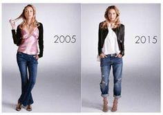 LIFE, LOVE, and DREAMS: Fashion, kecantikan 10 tahun lalu dan wajahnya kin...