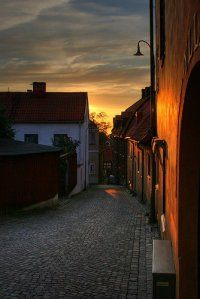 Sunset on Gotland ,Sweden