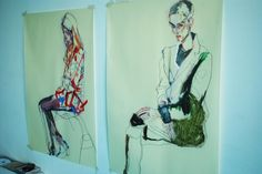 Drawing Master class with Howard Tangye #art #illustration