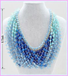 free seed bead patterns egyptian | Beads Necklace Seed Beads Patterns - Buy Chain Link 22rows Resin Beads ...