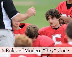Tips For Raising Boys: 6 Rules of Modern Boy-code - Ten to Twenty Parenting