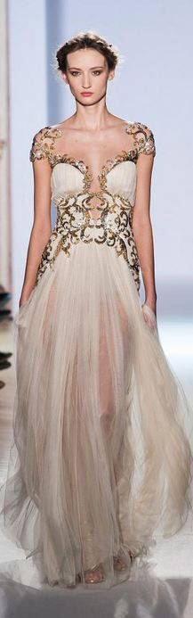 Zuhair Murad Spring 2013 Couture Fashion Show Style Couture, Couture Fashion, Runway Fashion, Fashion Show, Paris Fashion, Gothic Fashion, Womens Fashion, Zuhair Murad, Beautiful Gowns