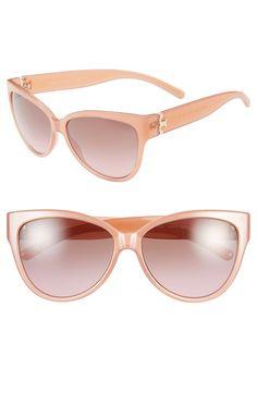 Loving these pink Tory Burch cat eye sunglasses!