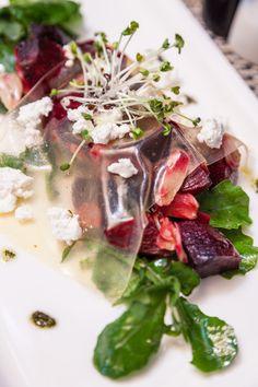 Roasted Beetroots with orange gelo salad  at #Porterhaus   #Foodshots #delicious #food  #cuisines  #roasted #salad #beetroot #orange