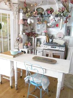 1990 best shabby chic kitchens images in 2018 cottage country rh pinterest com