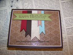 More information on this card on my blog:  www.sherrystampinroom.blogspot.com