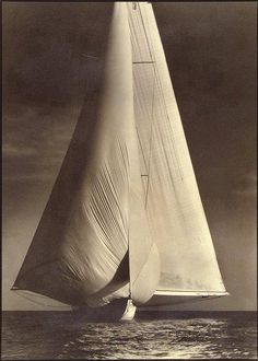 Margaret Bourke-White - 'Vanitie', International Yacht Race, Newport, Rhode Island , 1934