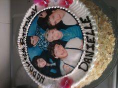 1 Direction birthday cake