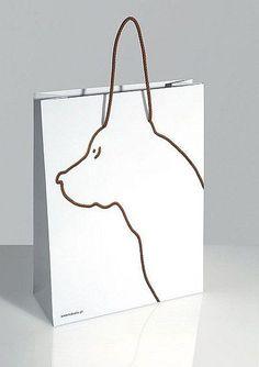 갖고싶은 강아지 쇼핑백