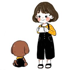 Fashion Tips For Beginners .Fashion Tips For Beginners People Illustration, Children's Book Illustration, Cartoon Drawings, Cute Drawings, Doodle People, Simple Line Drawings, Dibujos Cute, Kawaii Chibi, Cute Characters
