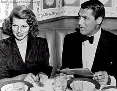 Cary Grant and Rita Hayworth                                                                                                                                                                                 More