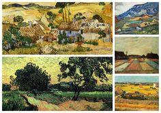 Vincent Van Gogh Collection XXXV (Cottages)