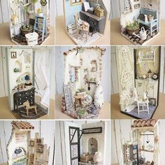 facebookに載せたちいさなドールハウス9軒のラインナップです。 つっても、非売品(好きすぎて売れない)もあります。 これからボチボチ詳細撮っていきます。 お時間あったらご覧ください。 #ミニチュア #ドールハウス #リトルデイジー #littledaisy #miniature #dollhouse #小さな国のつづきの話 littledaisy exhibition vol.2 小さな国のつづきの話 場所: @mizutama4328 ミズタマカフェ 和歌山市手平1-10-26 日時:2017年12月7日(木)〜21日(木) open 11:00〜18:00 close 12/10(日)11・18(月)