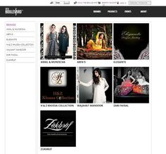 Our website www.desiboulevard.com now features a group of aspiring designers from Pakistan.   Only, it's just the BEGINNING...  We have new designers and products lined up for you all...  Stay tuned!