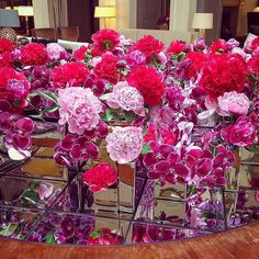 tetris blooms @byappointmenttony  @corinthialondon by byappointmentonlydesign