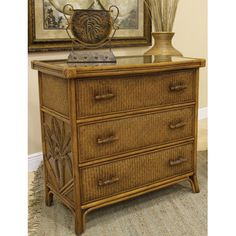Bay Isle Home Cypress 3 Drawer Dresser & Reviews | Wayfair