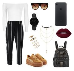 """polyvore"" by jesy-smith on Polyvore featuring mode, Puma, Boohoo, Charlotte Russe, Brunello Cucinelli, MCM, CLUSE et Forever 21"