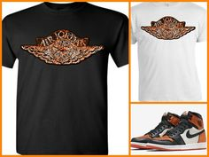 """EXCLUSIVE TEE SHIRT TO MATCH THE NIKE AIR JORDAN 1 SHATTERED BACKBOARDS-""""SBWING"""" #COPEMCUSTOMS #GraphicTee"""
