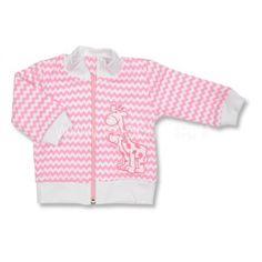 Bavlněný kabátek s žirafkou od českého výrobce Opočenský. #fashion #děti #zima