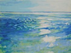 Cadence, 36x48 Original Paintings For Sale, Oil Painters, Ocean Paintings, Abstract Art, Contemporary, The Originals, Gallery, Frame, Beach House