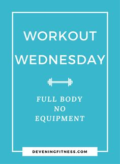 Full Body no Equipment Workout for Weight loss