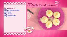 La ricetta della delizia al limone di Sal De Riso del 28 ottobre 2014 - Dolci dopo il tiggì