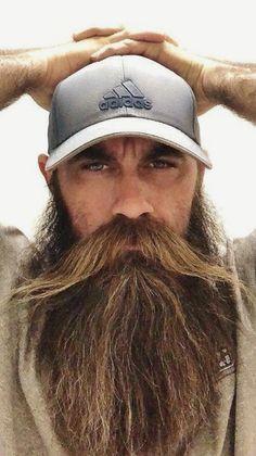 Long beard man Style IQ Beauty - Care - Skin care , beauty ideas and skin care tips Bad Beards, Grey Beards, Long Beards, Moustache, Beard No Mustache, Long Beard Styles, Hair And Beard Styles, New Beard Style, Man Style
