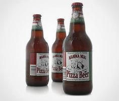 i probably should try pizza-flavored beer because it sounds really weird.