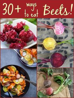 Beets are sooooooo good for us and I am really into beets these days - juicing, smoothies, roasted, and trying fermenting them.Beet Recipes - My Heart Beets Beet Recipes, Vegetable Recipes, Real Food Recipes, Vegetarian Recipes, Cooking Recipes, Yummy Food, Healthy Recipes, Tasty, Healthy Foods