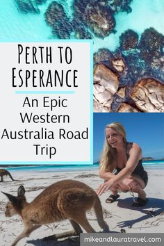 A four day itinerary from Perth to Esperance, Western Australia. One of the best road trips in all of Australia. Check out all of the best things to see and things to do on the Western coast of Australia. From incredible beaches to national parks, this is the guide for you! #westernaustralia #australiaroadtrip #perthtoesperance