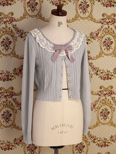 lace macaron cardigan Mary Magdalene | Lolita Fashion Archive and Resources