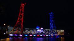 The Welland Canal Bridge in Welland, Ontario, Canada ~Michelle Allenberg/Welland Tribune/Postmedia Network