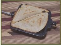 Lots of pie iron recipes - breakfast, lunch, dinner and snacks