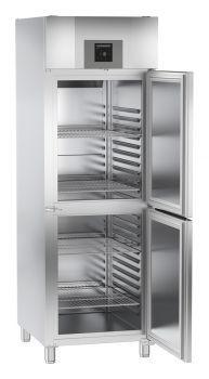 Liebherr GGPv 6577 GN 2/1 Gastrogefrierschrank French Door Refrigerator, French Doors, Kitchen Appliances, Home, Fine Dining, Stainless Steel Paint, Energy Consumption, Closet, Diy Kitchen Appliances