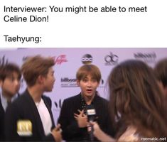 Legends were invited but can't go, poor taehyungie